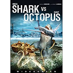 Mega Shark vs Giant Octopus with Bonus Digital Copy Included