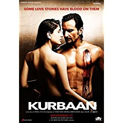 Kurbaan - 2009 (New Hindi Film / Bollywood Movie / Indian Cinema DVD)