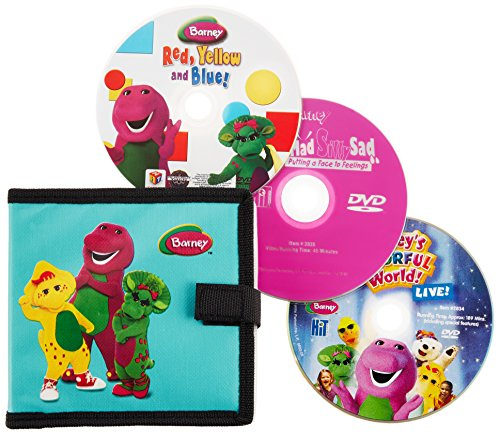 Barney: On-The-Go Pack (Three Disc Set)