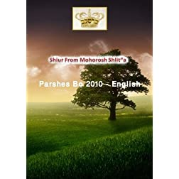 "Shiur From Mohorosh shlit""a of Heichal Hakodesh Breslov Parshas Bo 2010 In English"