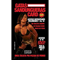 Gatas Sandungueras Pre-Paid Card Vol 1-14