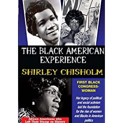 Shirley Chisholm: First Black Congresswoman