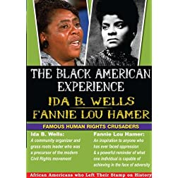 The Black American Experience Human Rights Crusaders 2 Pack: Ida B. Wells & Fannie Lou Hamer