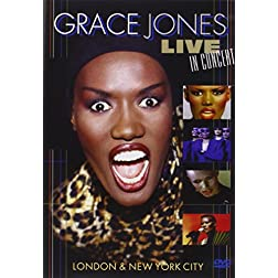 Grace Jones - Live in NYC 1981