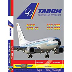 Tarom Airbus A319 & Boeing 737-700