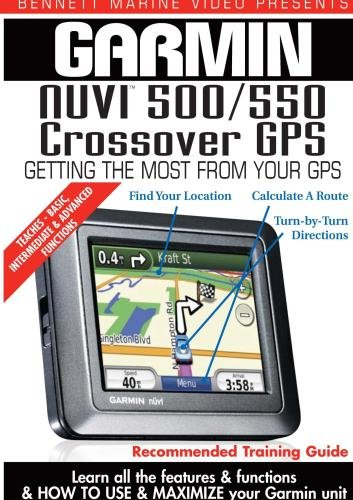 Garmin Instructional Training DVD: NUVI 500 / 550 Crossover GPS
