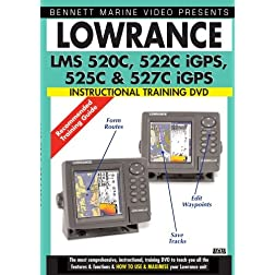 Lowrance LMS 520C, 522C iGPS, 525C & 527C iGPS Instructional Training DVD