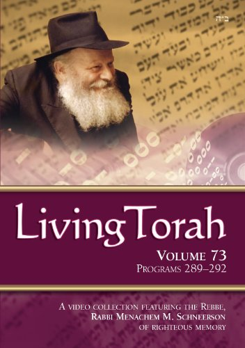 Living Torah Volume 73 Programs 289-292