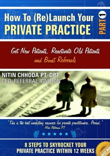 How To (Re)Launch Your Private Practice - Part 1