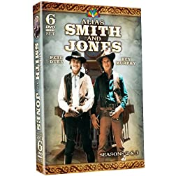 Alias Smith And Jones: Seasons 2 & 3! 35 color episodes!
