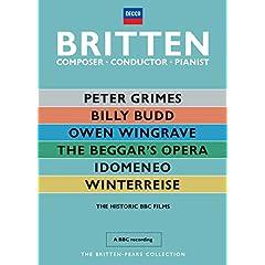 Britten: Composer, Conductor, Pianist - The Historic BBC Films
