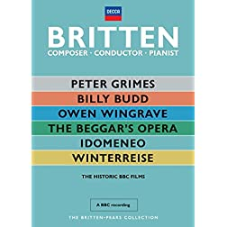 Britten: Composer, Conductor, Pianist - The Historic BBC Films