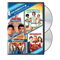 Guy Comedies: 4 Film Favorites (Harold and Kumar Go to White Castle / Semi-Pro / Beerfest / Mr. Woodcock)
