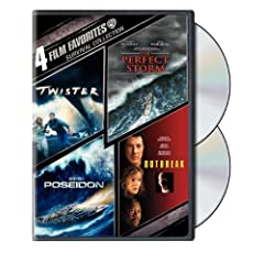 Survival: 4 Film Favorites (Twister / The Perfect Storm / Outbreak / Poseidon)