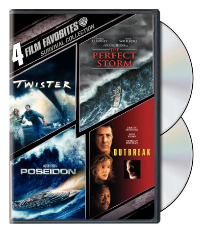 Survival: 4 Film Favorites (Twister / The Perfect Storm / Outbreak / Poseidon)
