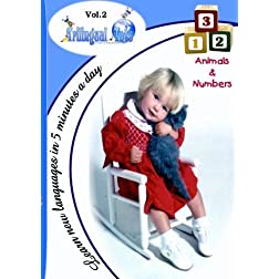 Trilingual Tots Volume 2  Animals & Numbers