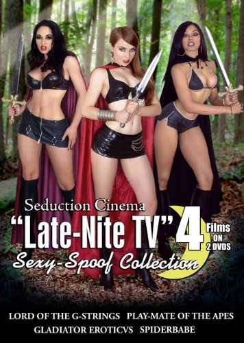 "Seduction Cinema ""Late-Nite Tv"" Sexy-Spoof Collection"