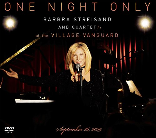 One Night Only Barbra Streisand and Quartet at The Village Vanguard September 26,2009 (DVD/CD)