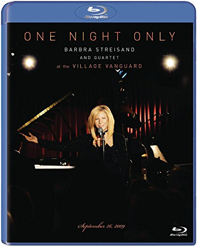 One Night Only: Barbra Streisand and Quartet at the Village Vanguard - September 26, 2009 [Blu-ray]