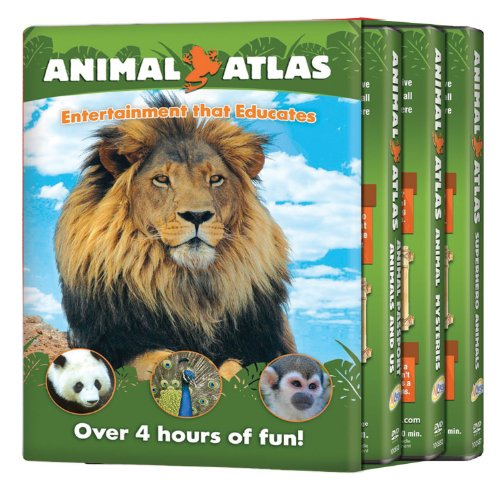 Animal Atlas: 3pack Super/Mysteries/2in1 (3pc)