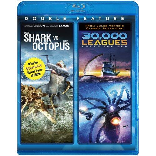 Mega Shark vs. Giant Octopus & 30,000 Leagues Under the Sea [Blu-ray]