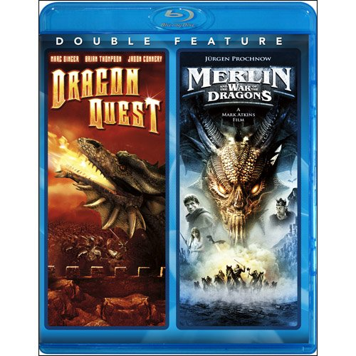 Dragonquest / Merlin & The War of the Dragons [Blu-ray]