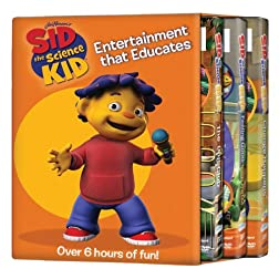 Sid the Science Kid: 3Pack Change/Bug/Good