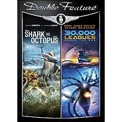 Mega Shark Vs Giant Octopus & 30,000 Leagues Under