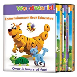 WordWorld: 3pack Bear/Ant/Boppin (3pc)