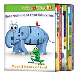 Word World: 3pack Race/Castles/Rocket (3pc)