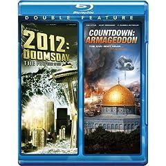 2012: Doomsday & Countdown: Armageddon [Blu-ray]