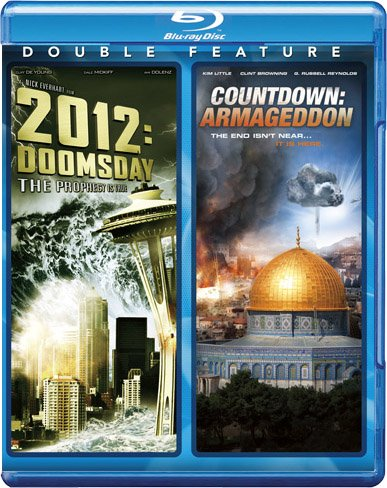 2012: Doomsday & Countdown: Armageddon [Blu-ray]