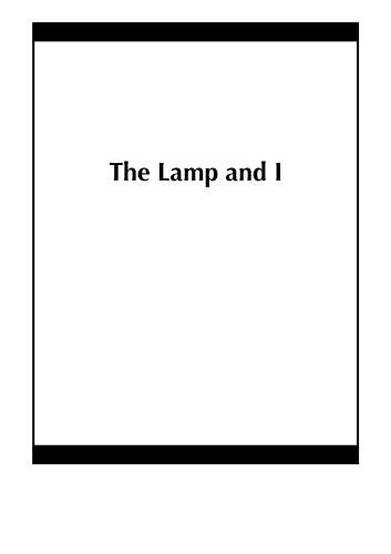The Lamp and I
