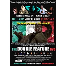 The Italian Zombie Movie - DOUBLE FEATURE DVD