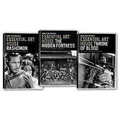 Essential Art House: Kurosawa Collection (Hidden Fortress/Ikiru/Throne of Blood)