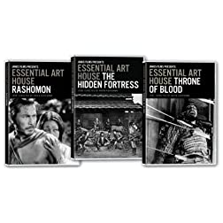 Essential Art House: Kurosawa Collection (Hidden Fortress/Ikiru/Throne of Blood)
