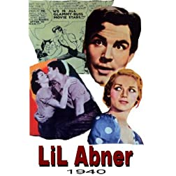 Li'l Aboner 16x9 Widescreen TV.