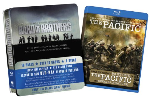 Band of Brothers with The Pacific Part One [Blu-ray]