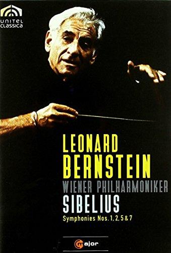 Sibelius: Symphonies Nos. 1, 2, 5 & 7 - featuring Leonard Bernstein and the Vienna Philharmonic