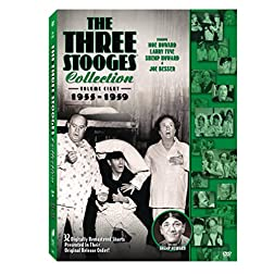 The Three Stooges Collection, Vol. 8: 1955-1959