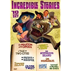 Incredible Stories - 10 Story Set