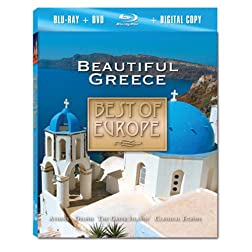 Best of Europe: Beautiful Greece [Blu-ray]