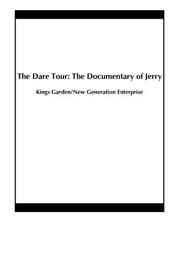 The Dare Tour: The Documentary of Jerry