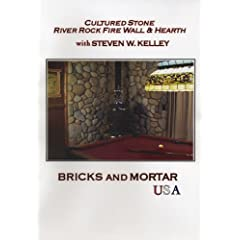 Cultured Stone River Rock Fire Wall & Hearth with Steven W. Kelley