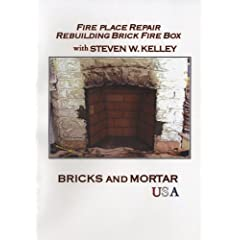 Fire Place Repair Rebuilding Brick Fire Box with Steven W. Kelley