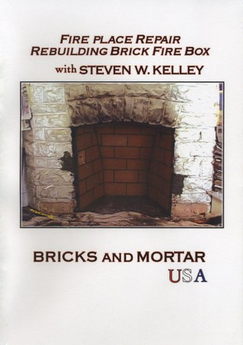 Fire Place Repair Rebuilding Brick Fire Box with Steven W. Kelley