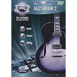 Alfred's PLAY Jazz Guitar 2: The Ultimate Multimedia Instructor (DVD)