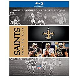 NFL New Orleans Saints: Road to Super Bowl XLIV (Post-Season Collector's Edition) [Blu-ray]