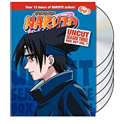 Naruto Uncut Box Set Season 3 Vol.1