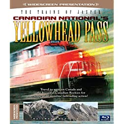 The Trains of Jasper-Canadian National's Yellowhead Pass [Blu-ray]